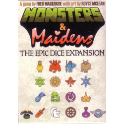 Monsters and Maidens: Epic Dice