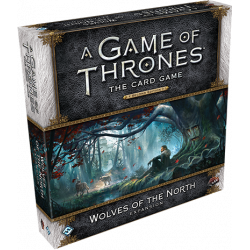 A Game of Thrones: The Card Game (Second Edition) – Wolves of the...