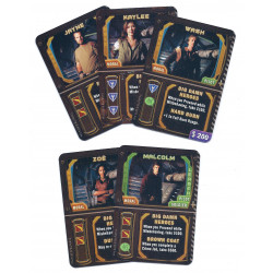 Firefly: The Game – Big Damn Heroes Promo Cards