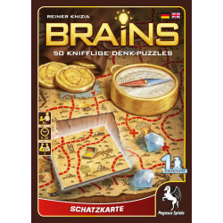 Brains Schatzkarte