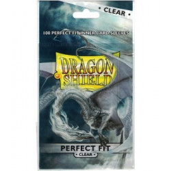 Dragon Shield - Perfect Fit Sleeves - Clear (100p.)