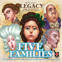Legacy: The Testament of Duke de Crecy – Five Families
