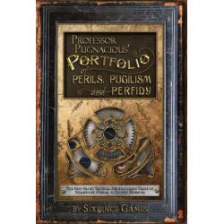 Professor Pugnacious Portfolio of Perils, Pugilism, and Perfidy:...