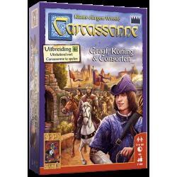 Carcassonne: Graaf, Koning en Consorten