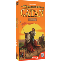 De Kolonisten van Catan: Steden & Ridders (uitbreidingsset voor 5...