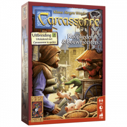 Carcassonne: Kooplieden en Bouwmeesters