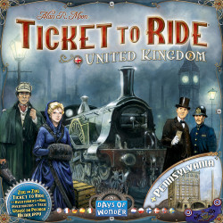 Ticket to Ride Map Collection: Volume 5 – United Kingdom &...