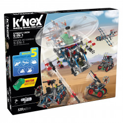 K'NEX  Combat Crew 5-in-1  Building Set (539-Piece)