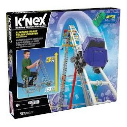 K'NEX  Blizzard Blast Roller Coaster Building Set (561-Piece)