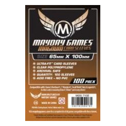 Mayday Sleeves: Magnum Ultra-Fit Copper 65x100mm (100p)