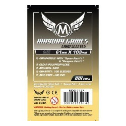 Mayday Sleeves Magnum  61x103 mm (100p)