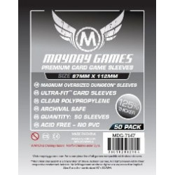 Mayday Sleeves Premium Sleeves  87x112 mm (50p) - Munchkin Dungeon