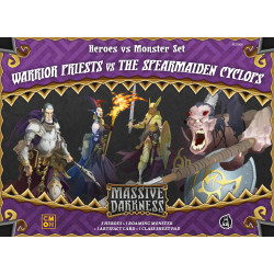 Massive Darkness: Heroes & Monster Set – Warrior Priests vs The...
