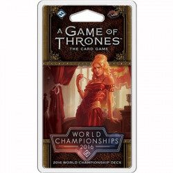 Game of Thrones LCG 2nd Edition World Championship Deck 2016
