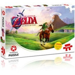 The Legend of Zelda Ocarina of Time Puzzel 1000 pc