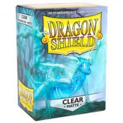 Dragon Shield 100 Box Clear Matte
