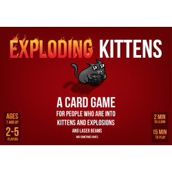 Exploding Kittens Magnetic Seal Edition