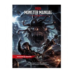 D&D 5.0 - Monster Manual TRPG