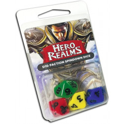 Hero Realms D10 Faction spindown dice