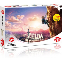 The Legend of Zelda Breath of the Wild Puzzel 500 pc