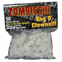 Zombies Bag o Clowns!!! White