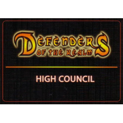 Defenders of the Realm: High Council Cards