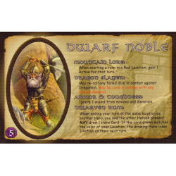 Defenders of the Realm: The Noble Dwarf (card only)