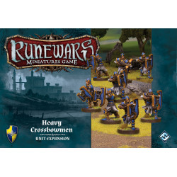 Runewars Miniatures Game: Heavy Crossbowmen – Unit Expansion