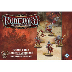 Runewars Miniatures Game: Uthuk Y'llan Infantry Command Expansion