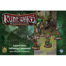 Runewars Miniatures Game: Latari Elves Infantry Command – Unit...