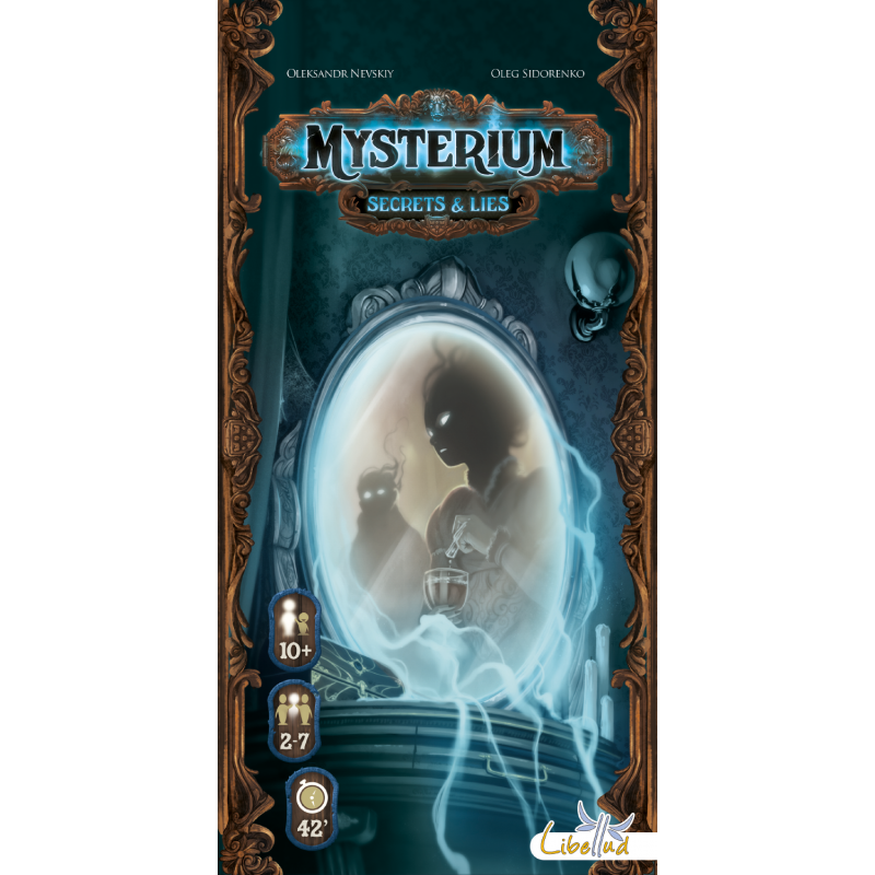 7e0766c67f Mysterium: Secrets & Lies consists of six new characters, six new  locations, six new items, and 18 story cards.