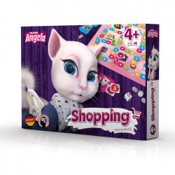 Shopping with Talking Angela (Talking Tom and Friends)