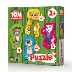 Talking Tom and Friend: 4 puzzles