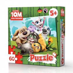 Talking Tom and Friends: Puzzel 60 stukjes