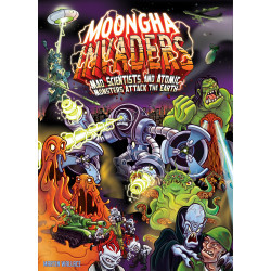 [Damaged] Moongha Invaders: Mad Scientists and Atomic Monsters...