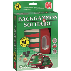 Backgammon & Solitaire travel version