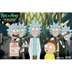 Rick and Morty: Close Rick-Counters of the Rick Kind Deck-Building...