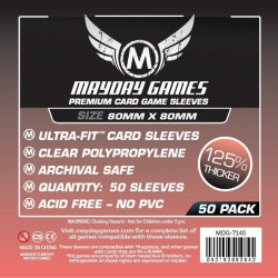 Mayday Premium Sleeves  80x80 mm (50p)