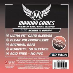 Mayday Premium Sleeves  80x80 mm (50p)