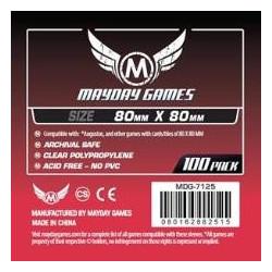 Mayday Medium Square Sleeves 80x80mm 100s