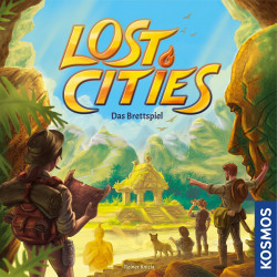 [Beschädigt] Lost Cities: The Board Game