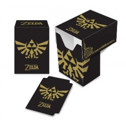 Deckbox Zelda Black and Gold