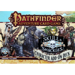 Pathfinder Adventure Card Game: Skull & Shackles – Character Add-On...