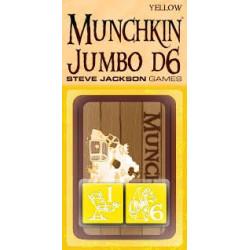 Munchkin Jumbo Dice Yellow D6