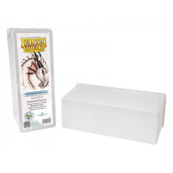 Dragon Shield Storage Box - White - 4 Compartments