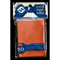 Fantasy Flight Red 50 pcs Standard Sized Sleeves 63.50x88mm