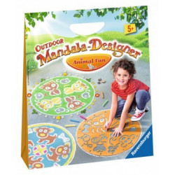 Outdoor Mandala Designer Animal Fun