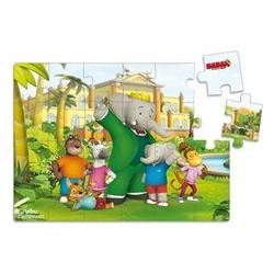 Puzzel 24 stuks Babar & Badou