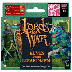 Lords of War:  Elves versus Lizardmen