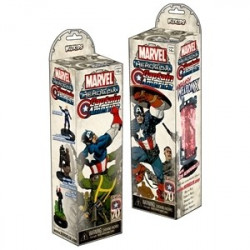 Marvel Heroclix Captain America Booster (5p)